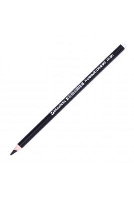 Угольный карандаш Ø 7.5мм. BRAUBERG